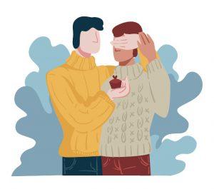 הצעת נישואים באנימציה