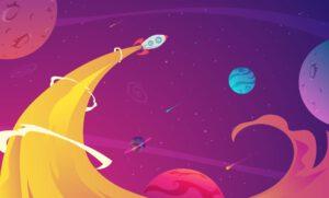 סרטון מוצר מטיס לשמיים חללית